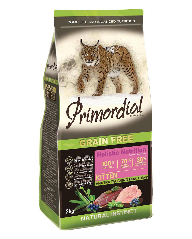 Primordial Kitten Duck & Turkey 2 kg