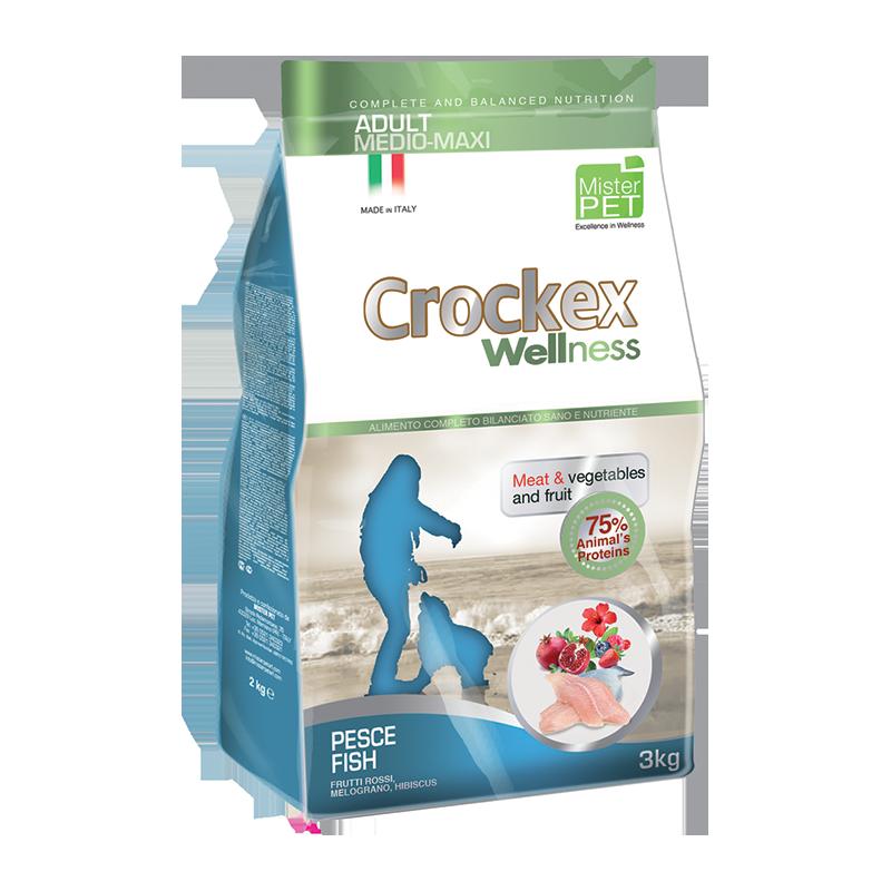 CROCKEX Wellness Adult MINI Fish 7,5kg