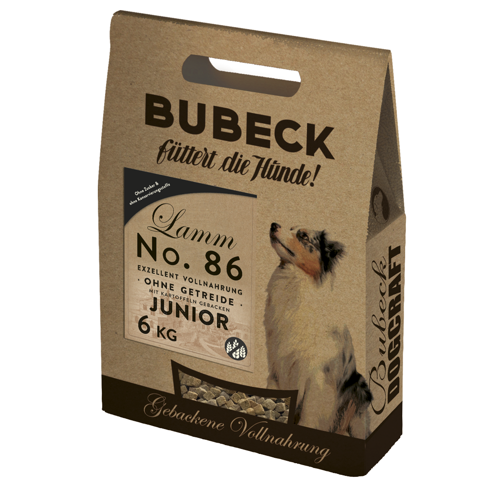 BUBECK No.86 Lammfleisch Junior 6 kg