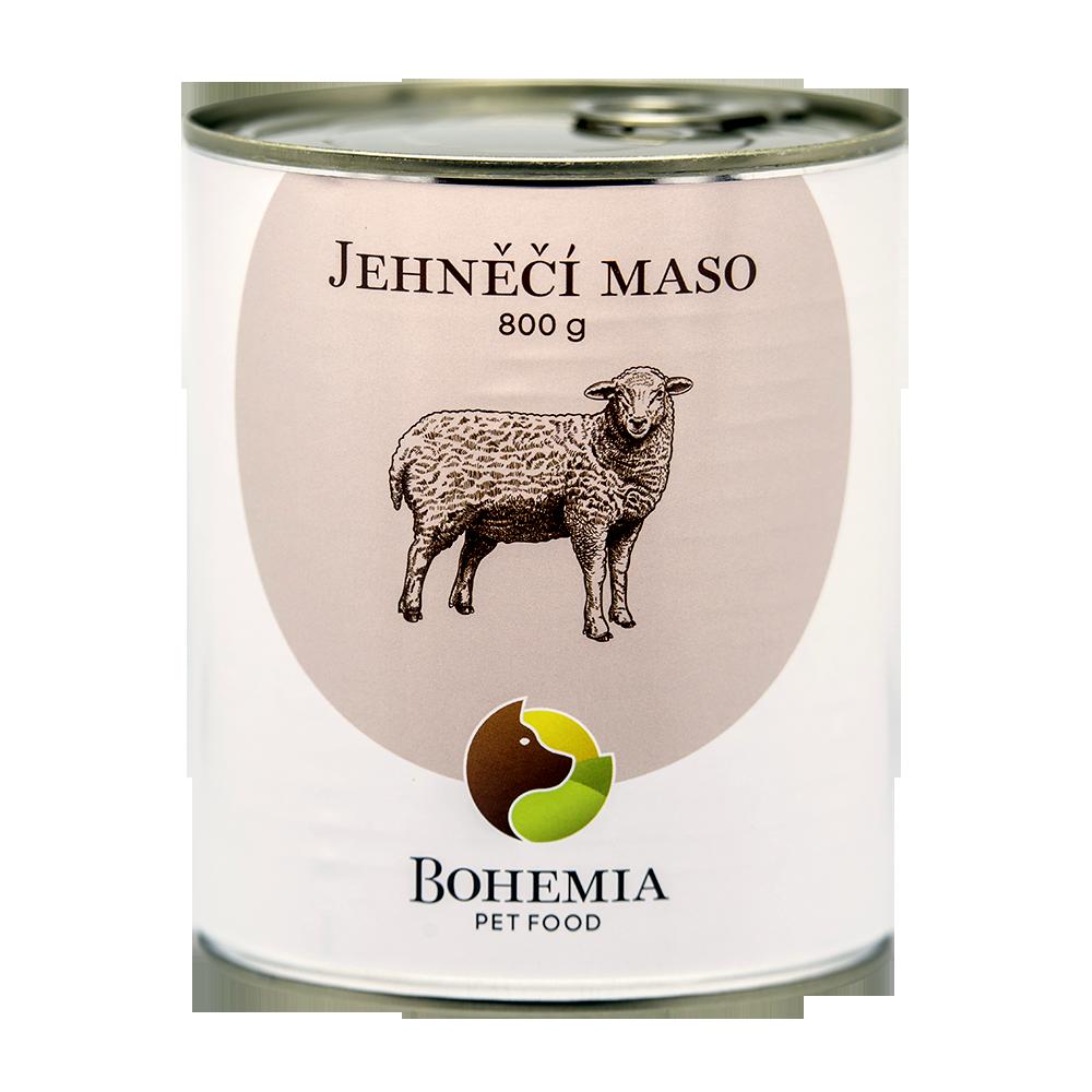 BOHEMIA Jehněčí maso ve vlastní šťávě 800 g