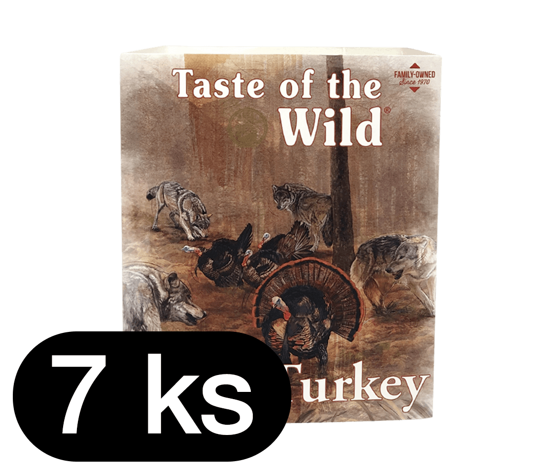 TOW Turkey&Duck DOg Tray 7x390 g
