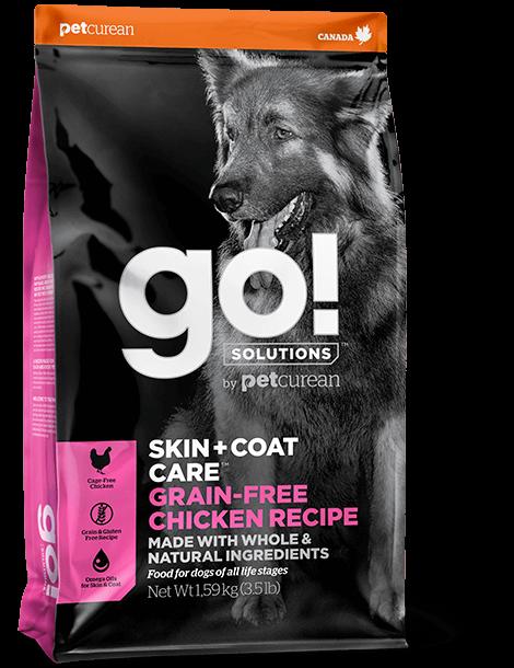 GO! Solutions Grain-Free Skin&Coat Chicken Dog 11,4 kg