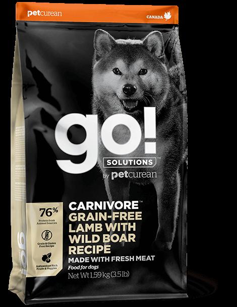 GO! Solutions Carnivore Lamb & Wild Boar Dog 1,6 kg