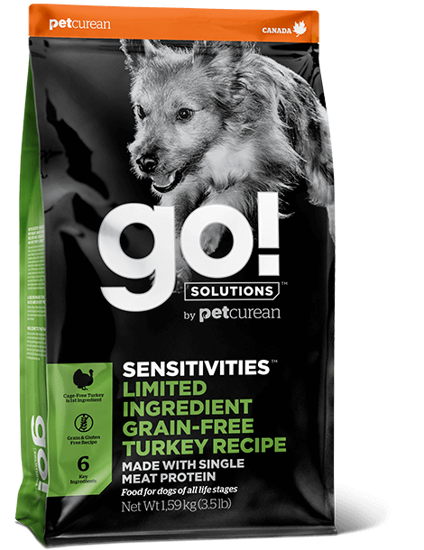 GO! Solutions Sensitivities LID Turkey Dog 10 kg