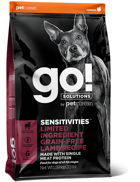 GO! Solutions Sensitivities LID Lamb Dog 10 kg