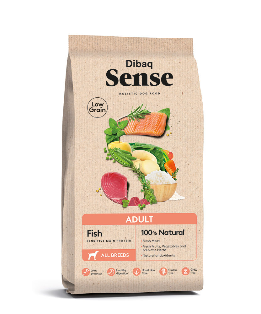 SENSE LOW GRAIN Adult Fish 12kg