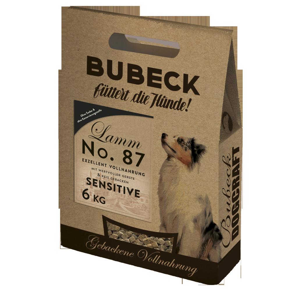 BUBECK No.87 Lammfleisch SENSITIVE - weizenfrei 12,5kg