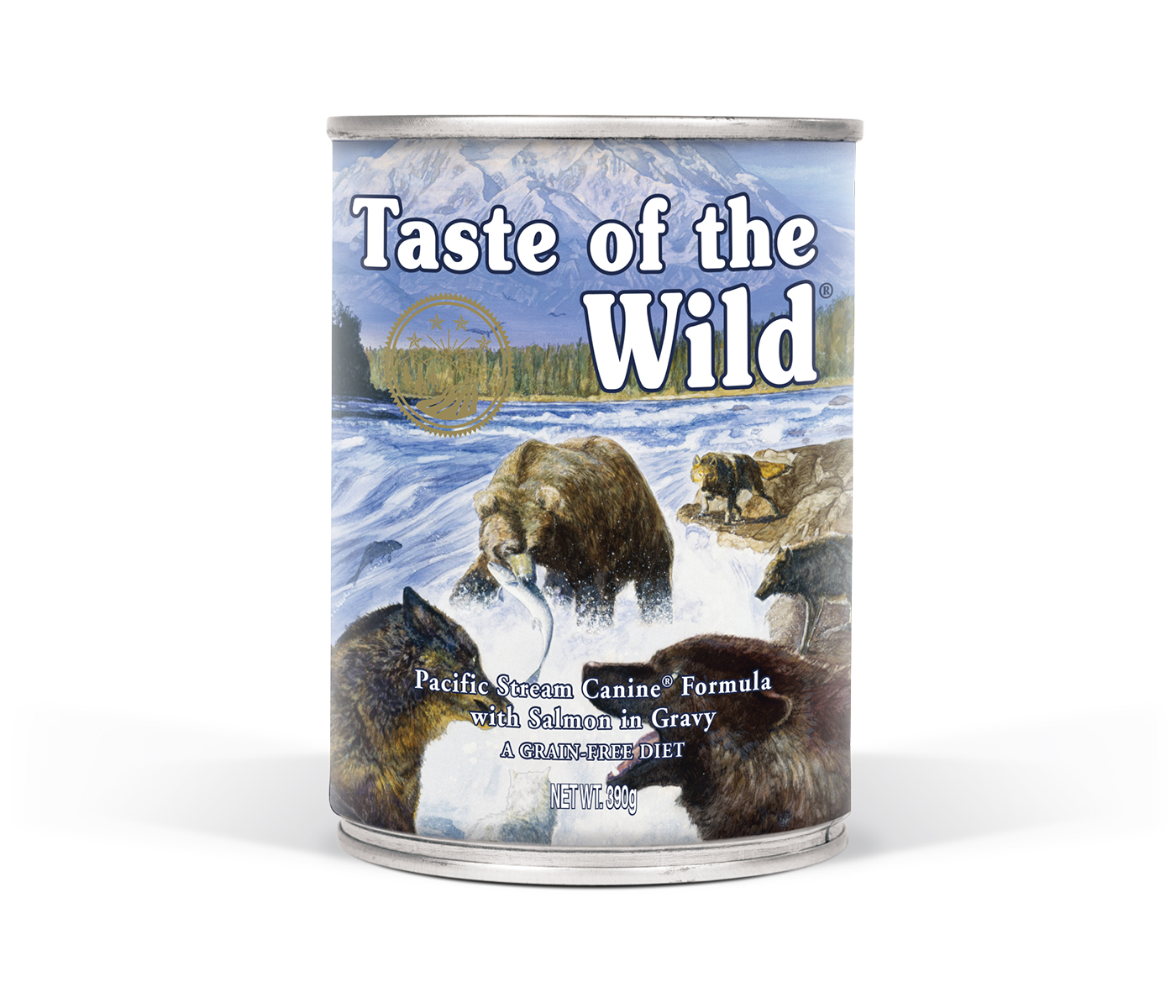 Taste Of The Wild Pacific Stream Can Dog 390g