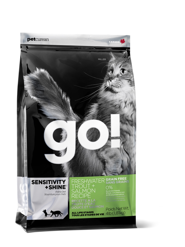 GO! Sensitivity+Shine Freshwater Trout+Salmon CAT 3,62 kg
