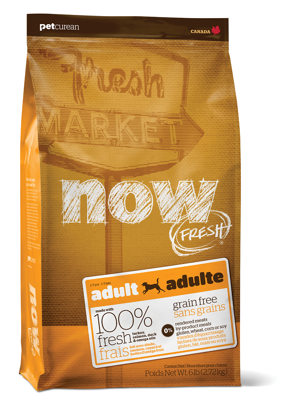 NOW FRESH Grain Free Adult DF 2,72 kg
