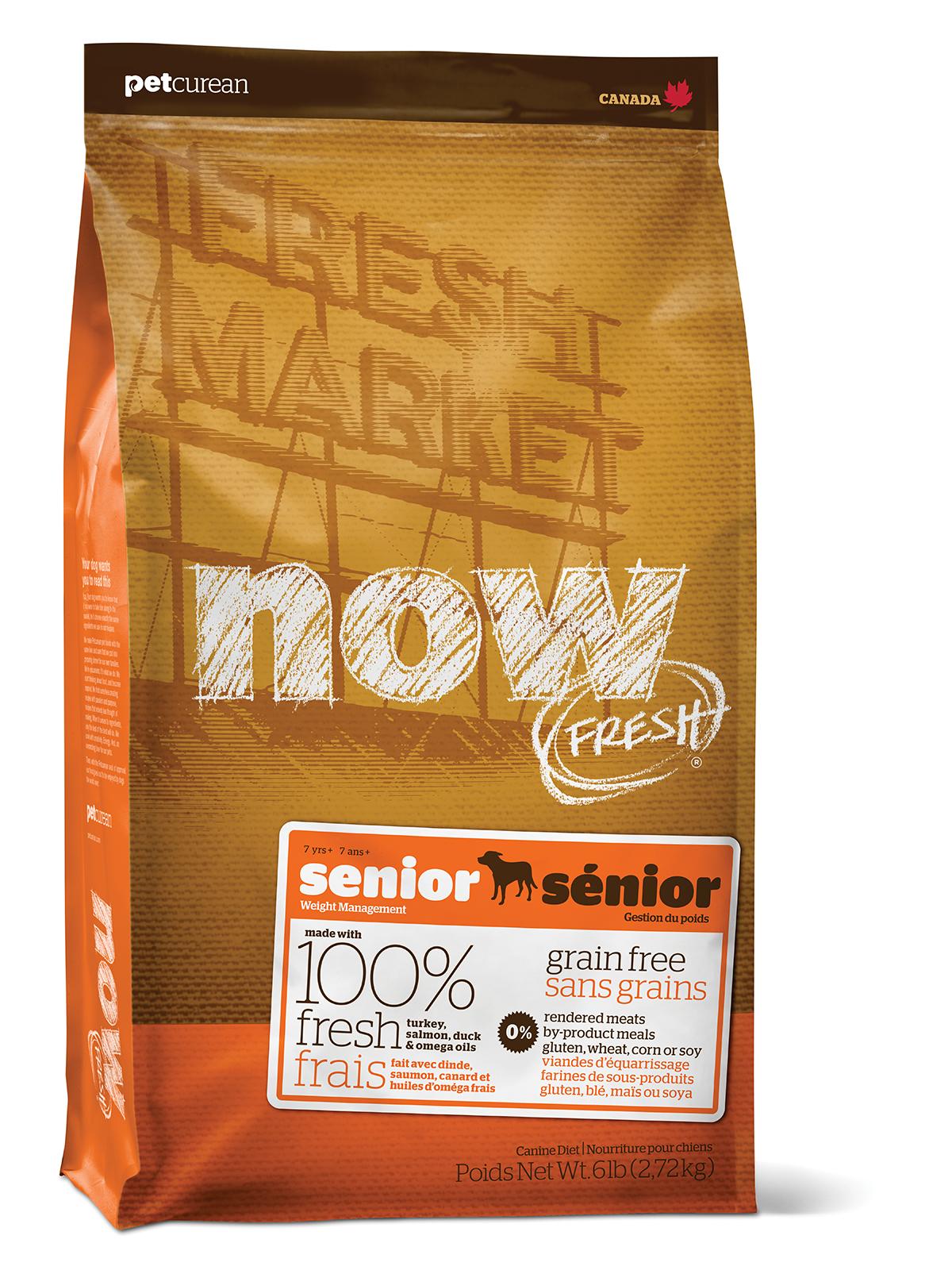 NOW FRESH Grain Free Senior DF 11,33Kg