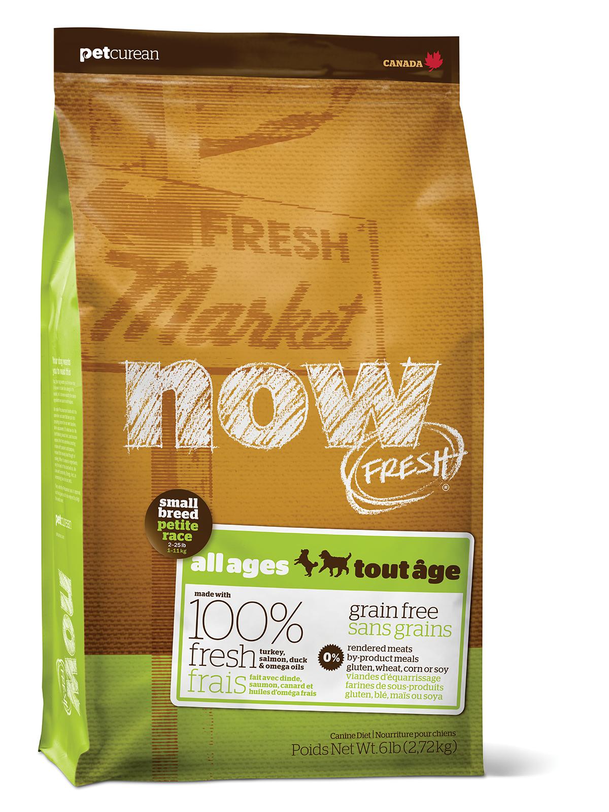 NOW FRESH Grain Free Small Breed DF 5,44Kg