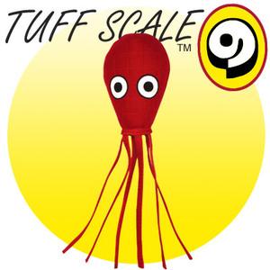 TUFFY Ocean Creature Squid red