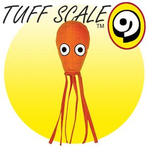 TUFFY Ocean Creature Squid orange