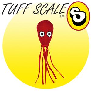 TUFFY Ocean Creature JR Squid red