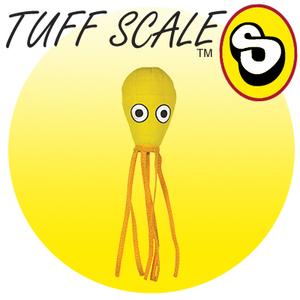 TUFFY Ocean Creature JR Squid Yellow