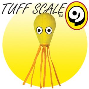 TUFFY Ocean Creature Squid Yellow