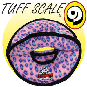TUFFY Ultimates 4 Way Ring Pink Leopard