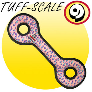 TUFFY Ultimates Tug-O-War Pink Leopard