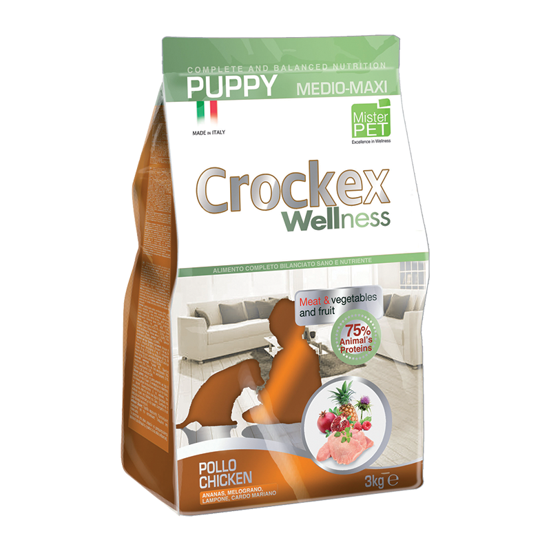 Crockex Puppy Chicken & Rice 12 kg
